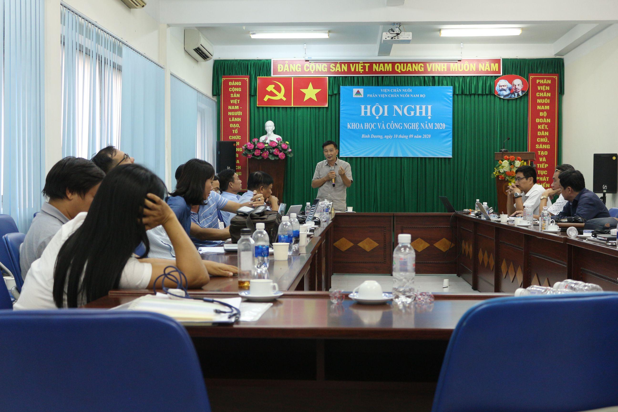 Hội nghị Khoa học Phân Viện Chăn Nuôi Nam Bộ