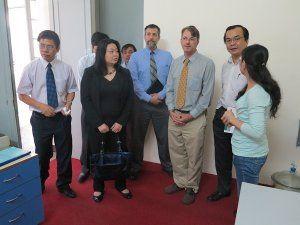 Đoàn USDA thăm Phân Viện Chăn nuôi Nam Bộ