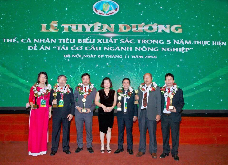 Giải thưởng Bông lúa vàng Việt Nam năm 2018
