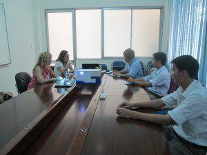 Hợp tác nghiên cứu với Cục An toàn Thực phẩm Argentina