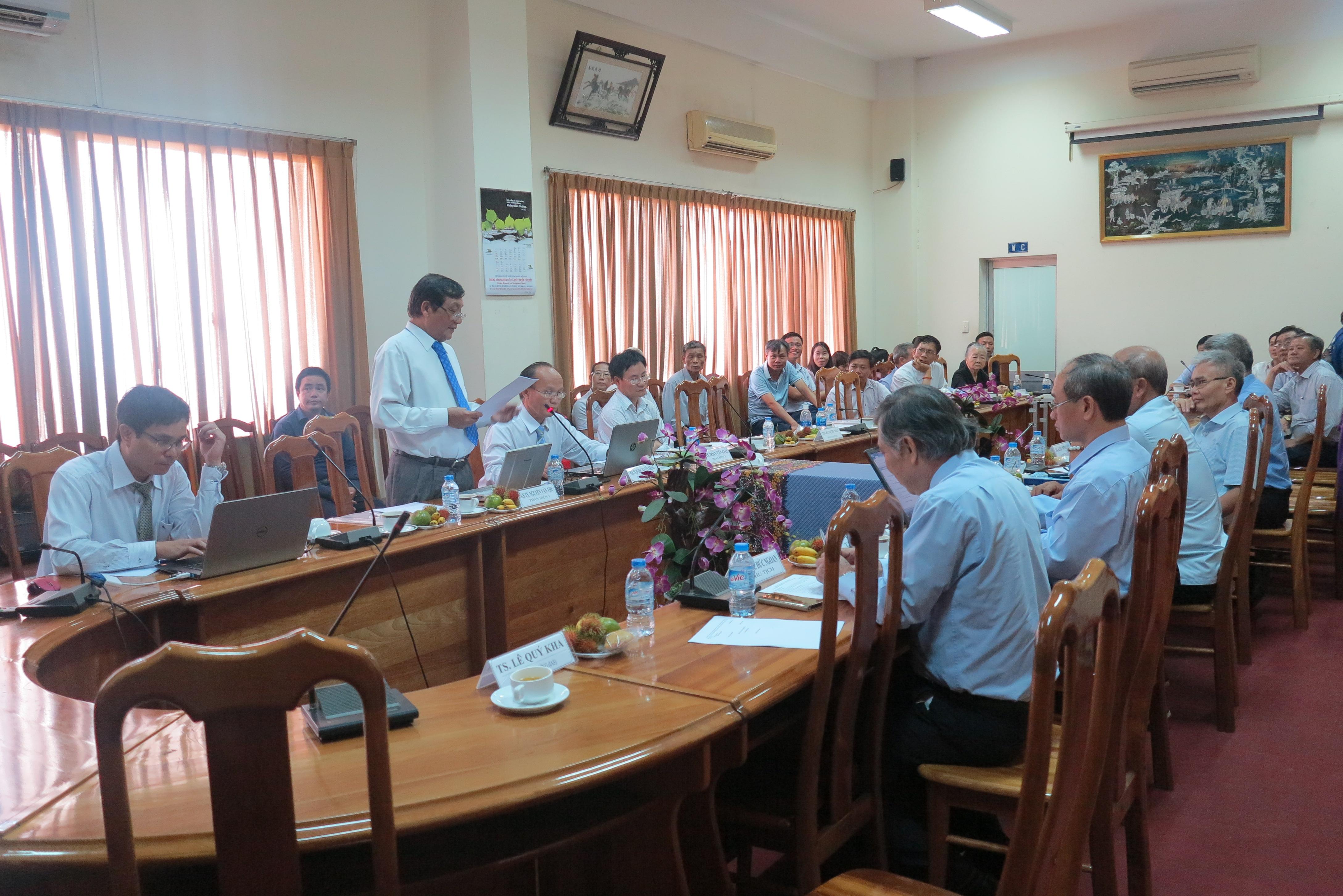NCS Nguyễn Văn Phú bảo vệ thành công luận án tiến sĩ tại Viện Khoa học Kỹ thuật Nông nghiệp miền Nam