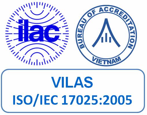 Phòng phân tích Chăn nuôi - Phân Viện Chăn Nuôi Nam Bộ đạt chứng chỉ chứng nhận ISO/IEC 17025: 2005